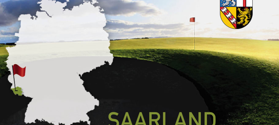 Golfen im Bundesland Saarland