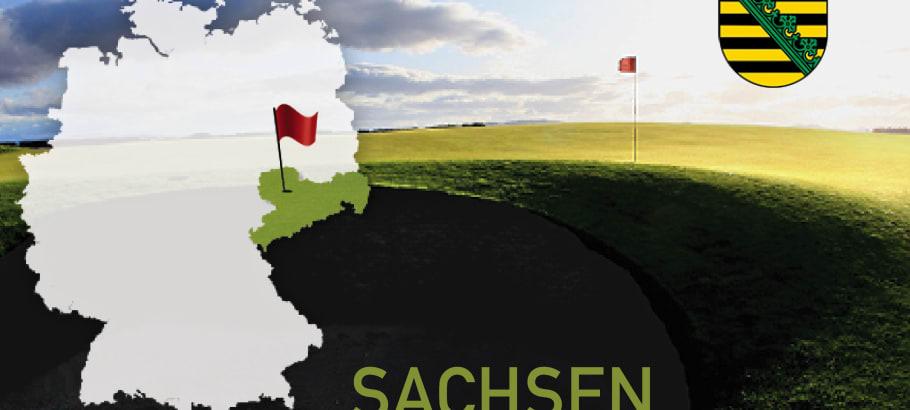 Golfen im Bundesland Sachsen