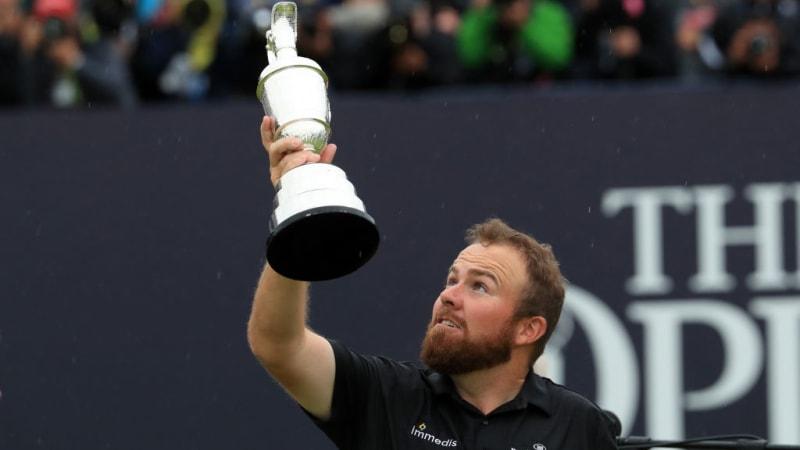 Schau hin, Shane! - Die besten Bilder von Tag 4 der British Open