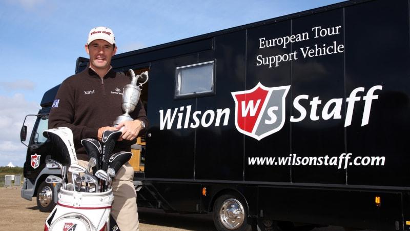 Gewinnspiel: Signiertes Wilson-Tour-Bag vom zweifachen Open-Sieger Padraig Harrington