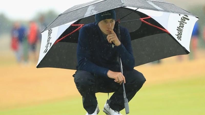 Regenfälle, Regelfragen und Resignation - Impressionen vom zweiten Tag der Open Championship