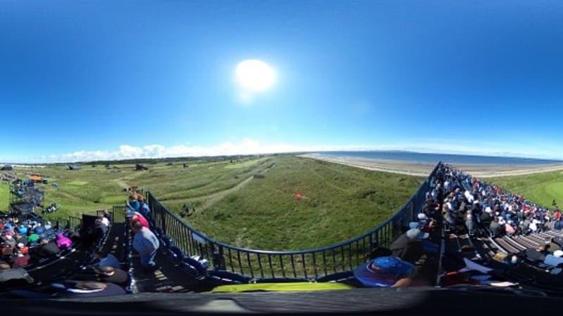Sonnige Aussichten am ersten Tag der Open Championship