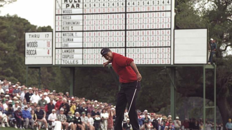 Von 1997 bis 2019 - Alle 15 Majortitel des Tiger Woods