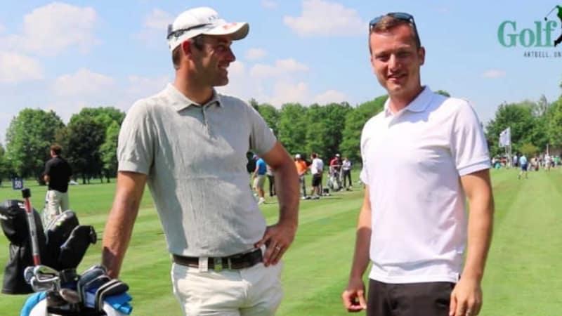 Blick ins Bag: Florian Fritsch vertraut ganz den Experten