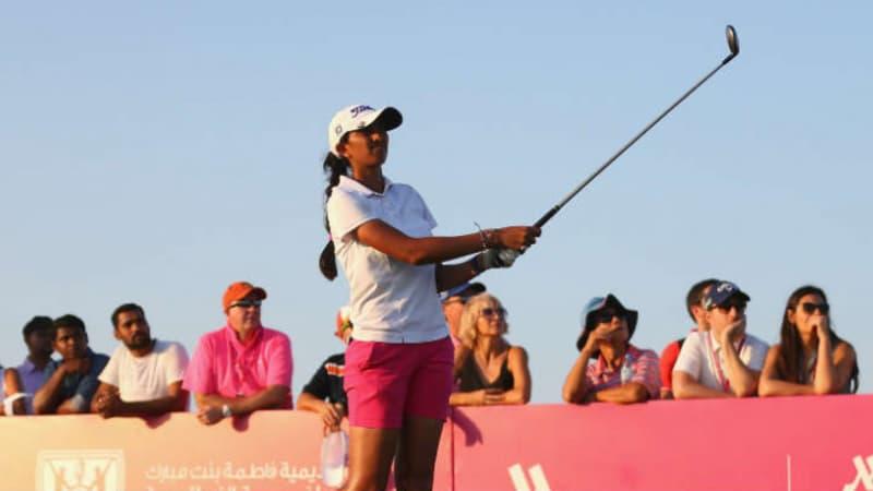 Fatima Bint Mubarak Ladies Open: Unerwarteter Zittersieg für Aditi Ashok