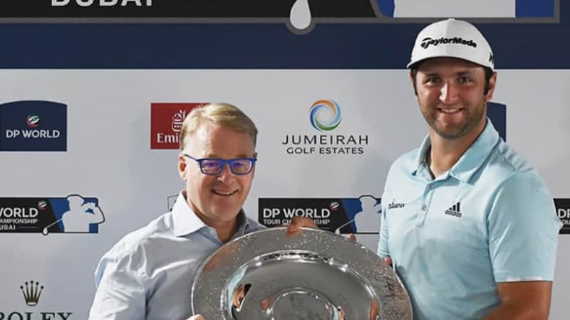 Jon Rahm wird European Tour Rookie of the Year