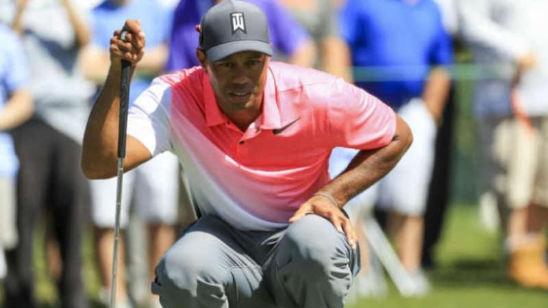 PGA Tour: Tiger Woods hat die Top 10 fest im Blick