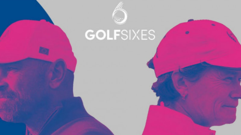 European Tour: GolfSixes - Erstes Profiturnier für Männer und Frauen