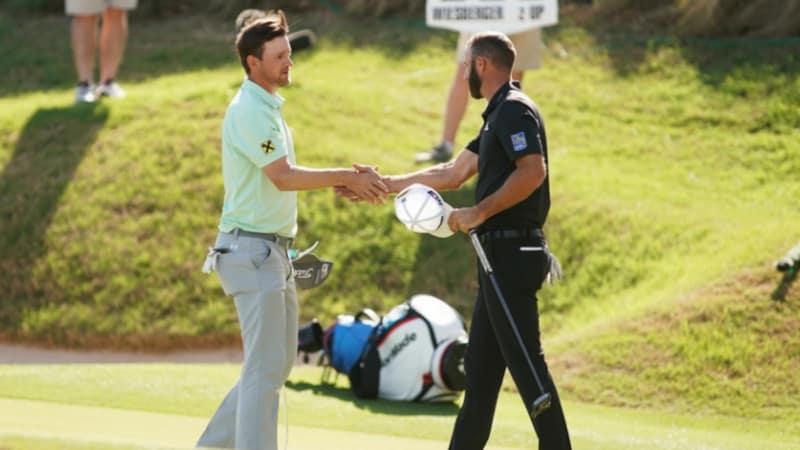 World Golf Championship: Bernd Wiesberger schlägt die Nummer 1 der Welt