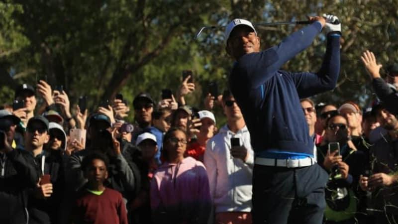 PGA Tour: Tiger Woods spielt in Bay Hill wieder oben mit