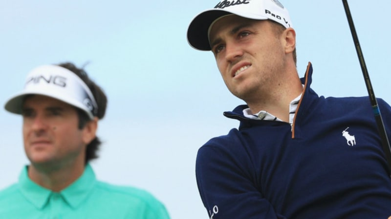 World Golf Championship: Justin Thomas trifft auf Bubba Watson