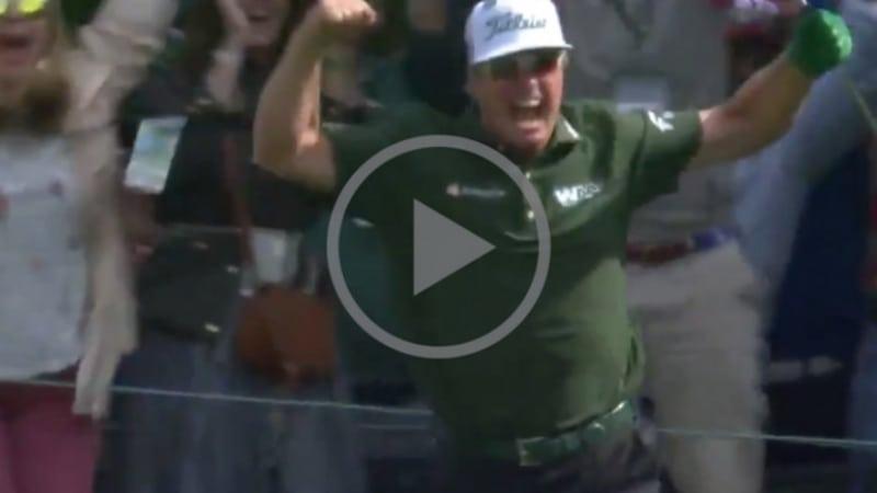 Video: Endlich! Das erste Hole-in-One beim US Masters 2018
