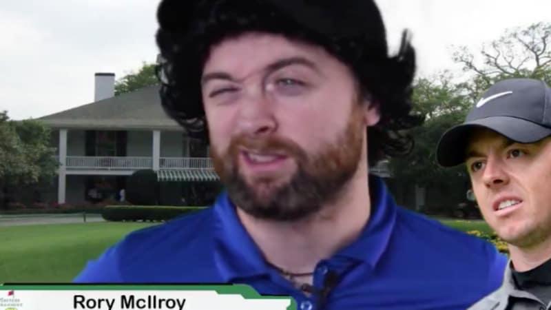 US Masters Tournament: Irischer Comedian parodiert McIlroy, Garcia und Co.