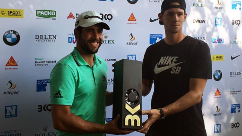 European Tour: Spanier Otaegui gewinnt großartige Belgian Knockout Premiere