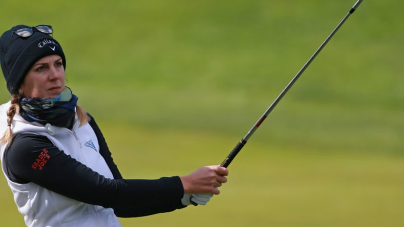 LPGA Tour: Sandra Gal auf Platz 6 im Wetter-Chaos