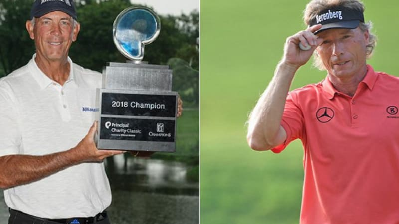 PGA Tour Champions: Lehman triumphiert, Langer Zweiter