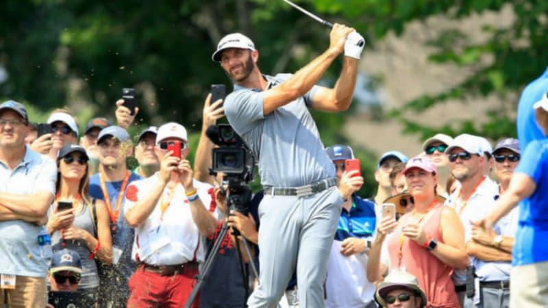 PGA Tour: Dustin Johnson auf gutem Wege die Weltspitze zurückzuerobern