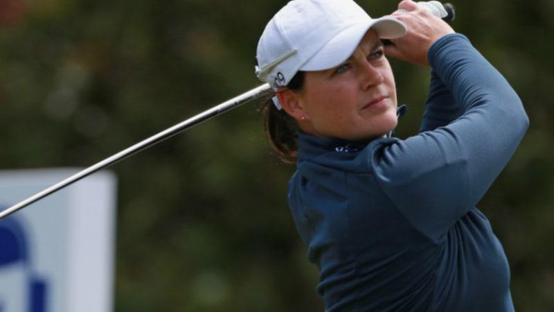 LPGA Tour: Caroline Masson fällt unter schweren Bedingungen zurück