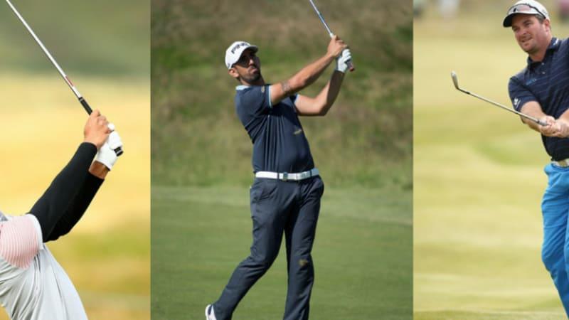 European Tour: Exotisches Trio an der Spitze bei der Irish Open