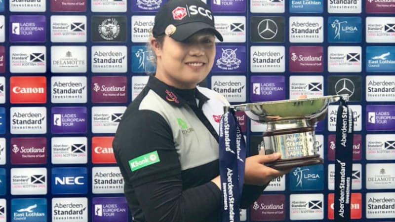 Ariya Jutanugarn gewinnt den Links-Test der LPGA und Ladies European Tour