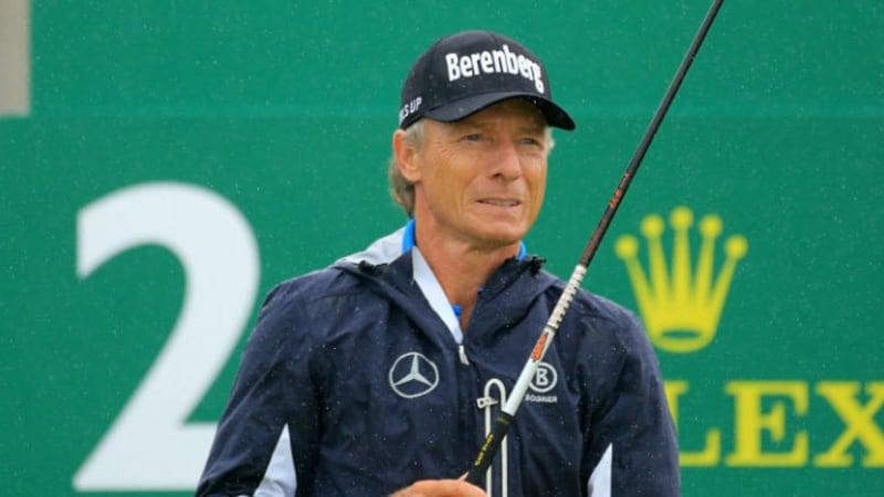 Senior Open Championship: Bernhard Langer wird Zweiter auf dem Old Course in St. Andrews