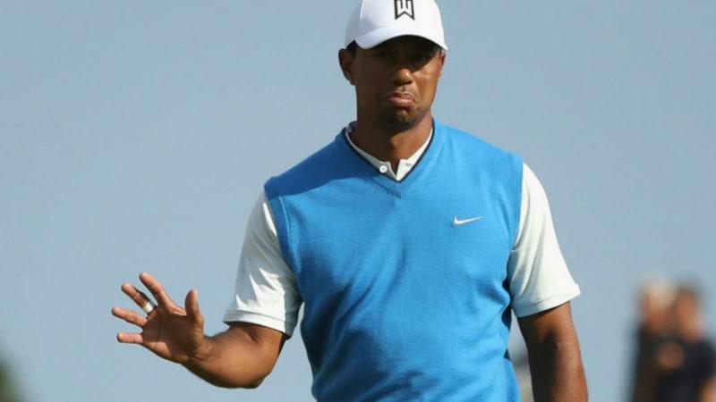 Open Championship 2018: Tiger Woods mischt lange vorne mit