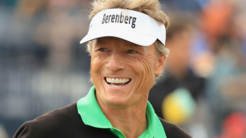 Open Championship: Bernhard Langer mit Eagle und bester Turnierleistung