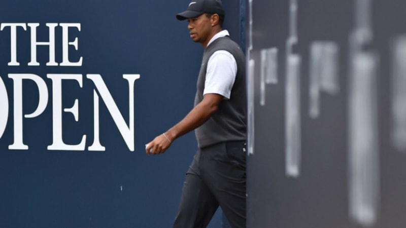 Open Championship 2018: Tiger Woods mit genialer Runde am Moving Day