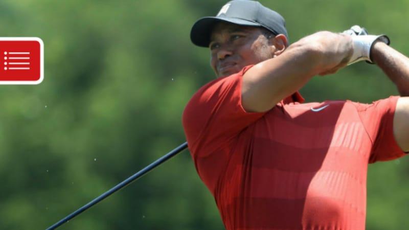 PGA Tour: Tiger Woods auf dem Weg zu einer Top-Platzierung