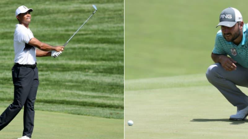 PGA Tour: Stephan Jäger mit starker Runde, Tiger Woods kämpft sich in die Top 10
