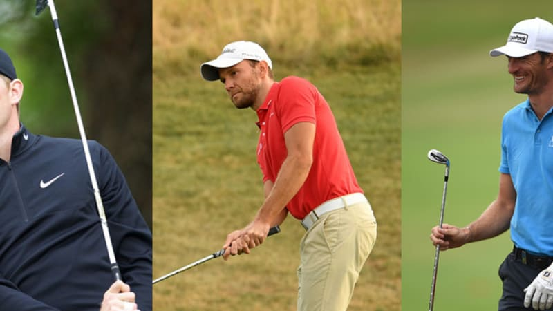 European Tour Tee Times: Deutsches Trio im Finale