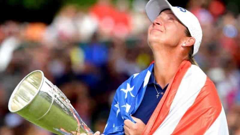 Evian Championship: Angela Stanford macht ersten Majorsieg perfekt