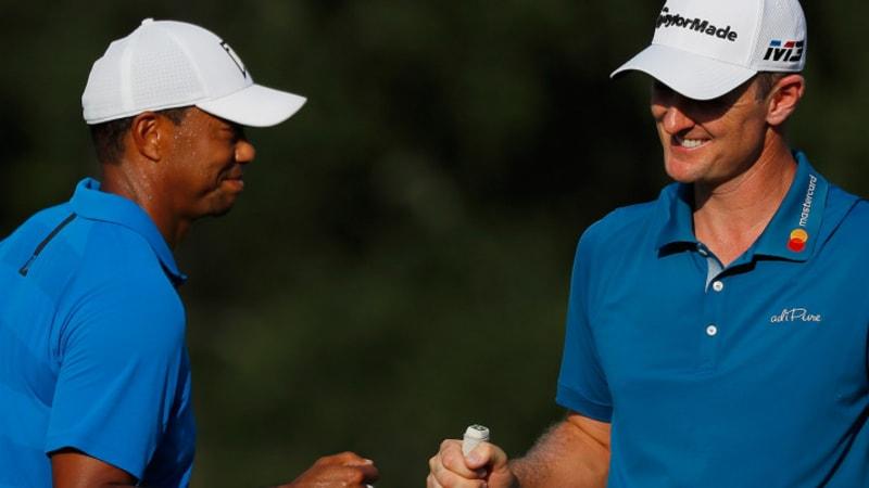 PGA Tour Saisonfinale: Woods und Rose auf dem Weg zu den Trophäen