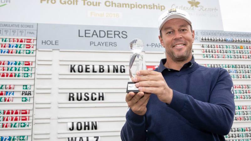 Pro Golf Tour Finale 2018: Kölbing gewinnt, Howie holt den Gesamtsieg
