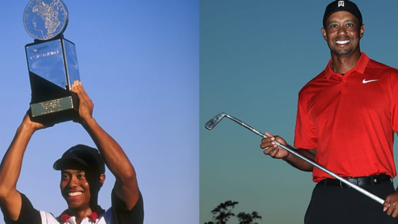Von 1996 bis 2018 - Alle PGA-Tour-Siege von Tiger Woods