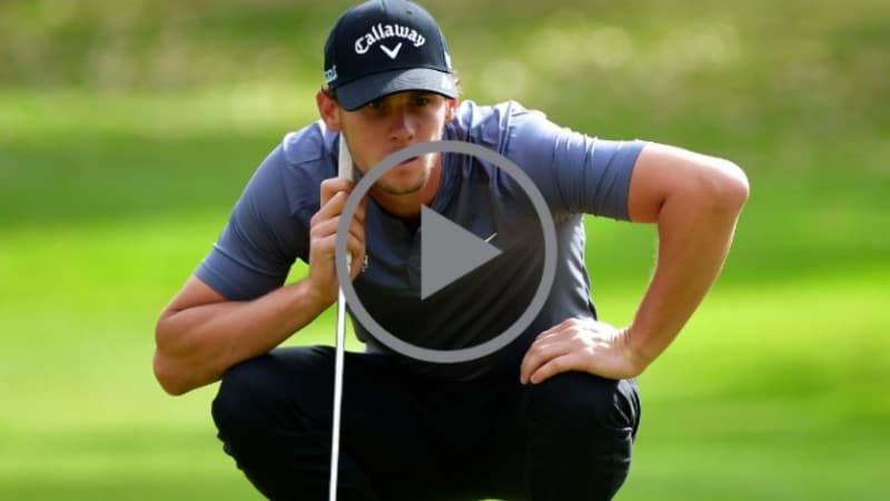 Video: Thomas Pieters rastet erneut aus