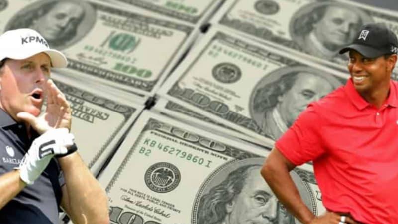 Duell Woods vs. Mickelson: Zu viel Wirbel um einen Showdown im Pay-TV