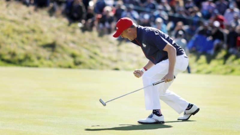 Justin Thomas präsentiert seine Ziele der vergangenen Golf-Saison