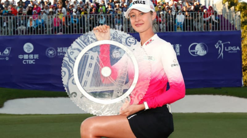 LPGA Tour: Nelly Korda triumphiert in Taiwan