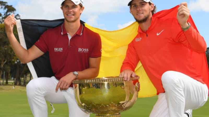 World Cup of Golf: Pieters und Detry holen Sieg für Belgien