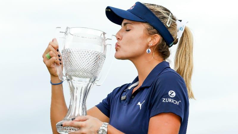 Lexi Thompson hat ihren zehnten Erfolg auf der LPGA Tour eingefahren. (Foto: Getty)