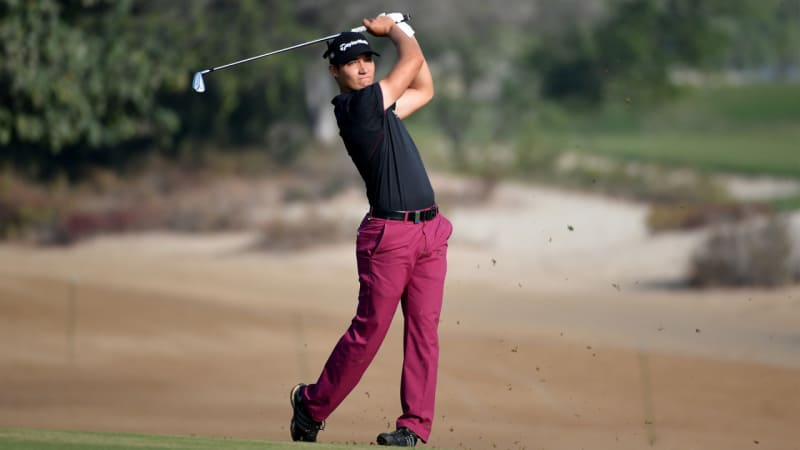 European Tour: Dominic Foos glänzt in der zweiten Runde in Abu Dhabi