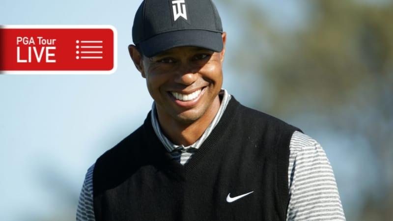 PGA Tour LIVE: Wie beendet Tiger Woods sein Saisondebüt?