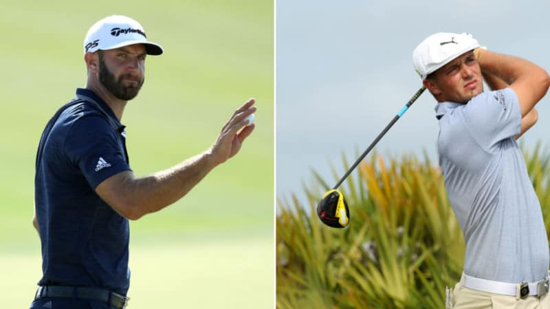 PGA Tour Tee Times: Dustin Johnson zusammen mit Bryson DeChambeau in Hawaii