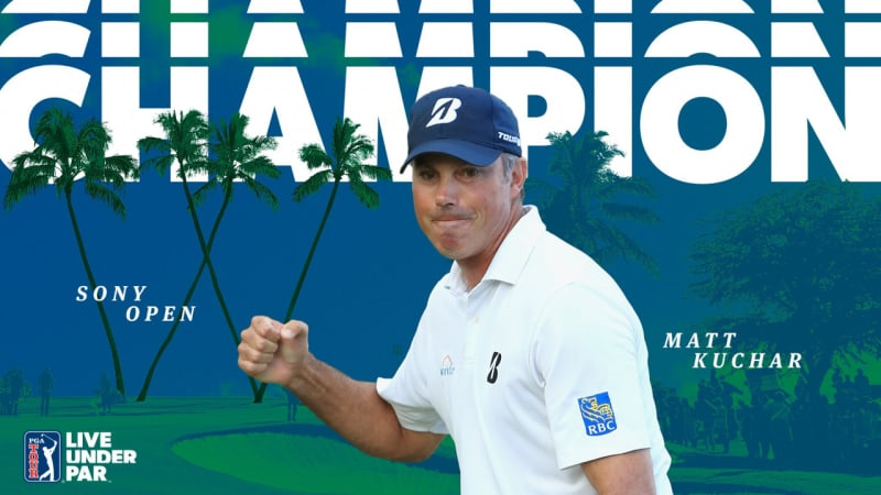 What's in the Bag 2019: Matt Kuchar mit buntem Mix zum Triumph