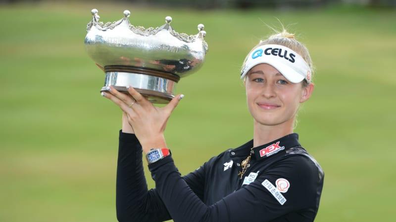 Nelly Korda gewinnt die Women's Australian Open der LPGA Tour. (Foto: Getty)