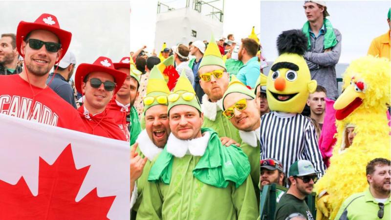 WM Phoenix Open - Die besten Bilder von der Partymeile im Golf