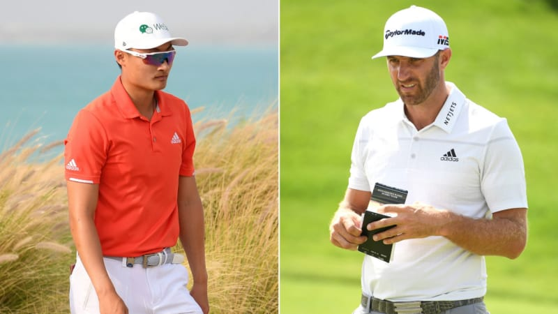 European Tour: Dustin Johnson und Haotong Li in Führung