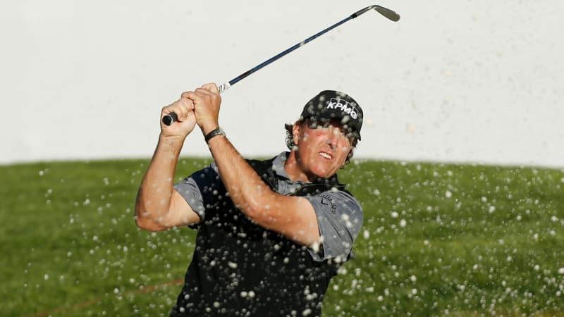 PGA Tour: Phil Mickelson in geteilter Führung beim Pebble Beach Pro-Am