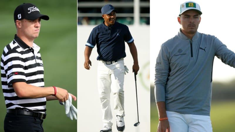 PGA Tour: Trio um Justin Thomas und Rickie Fowler in Führung
